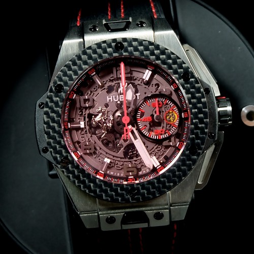 Big Bang Unico Ferrari Titanium Carbon