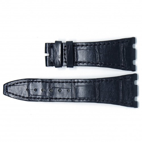 Black Alligator Strap (STD) 41mm