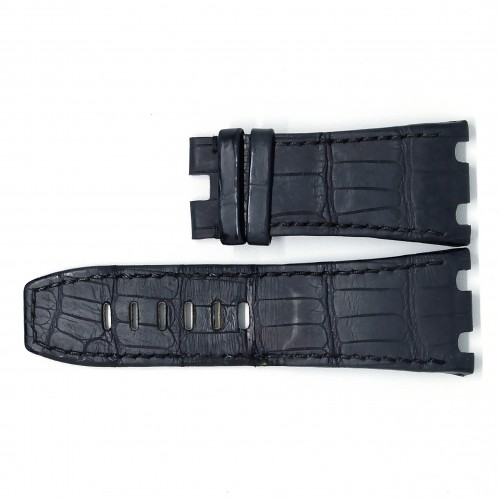 Black Crocodile Strap (XS) 44mm
