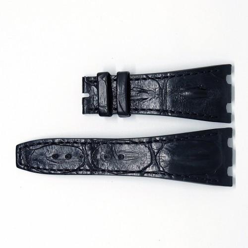 BLACK HORNBACK STRAP (XS) 42MM