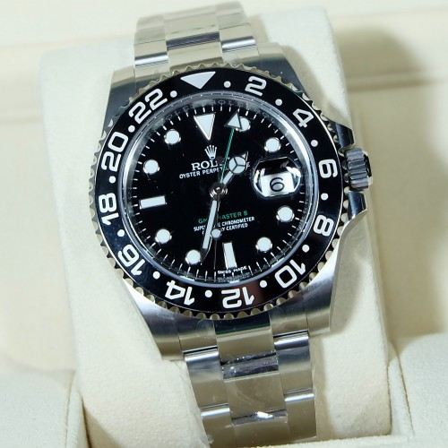 GMT-MASTER II BLACK
