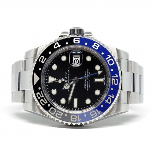 GMT-MASTER II BLUE BLACK BATMAN (2015)