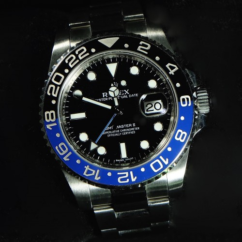 GMT-MASTER II BLUE BLACK