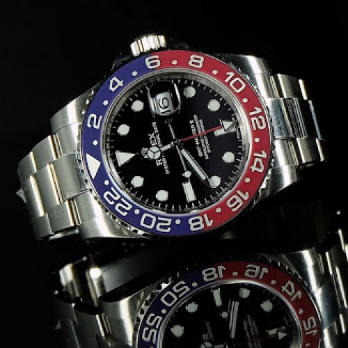 GMT-MASTER II WHITE GOLD 'PEPSI'