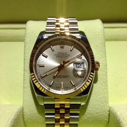OYSTER PERPETUAL DATEJUST ROSE GOLD