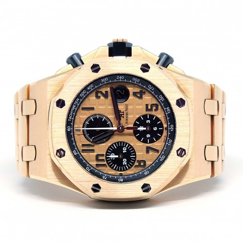 ROYAL OAK OFFSHORE PINK GOLD BRACELET