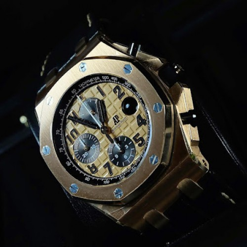 ROYAL OAK OFFSHORE PINK GOLD