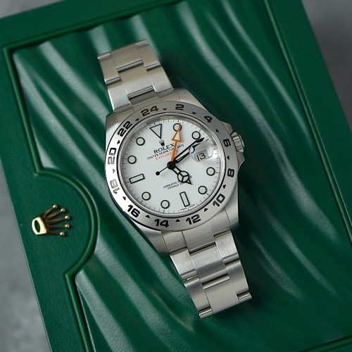 EXPLORER II WHITE DIAL 216570
