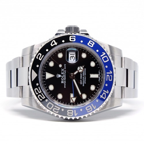 GMT-MASTER II BLUE BLACK BATMAN (2016)