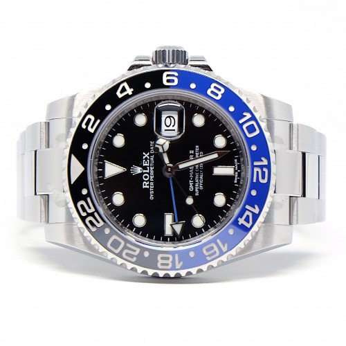 GMT-MASTER II BLUE BLACK BATMAN (2017)