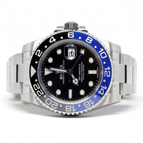 GMT-MASTER II BLUE BLACK BATMAN (2018)