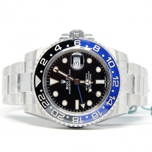 GMT-MASTER II BLUE BLACK BATMAN