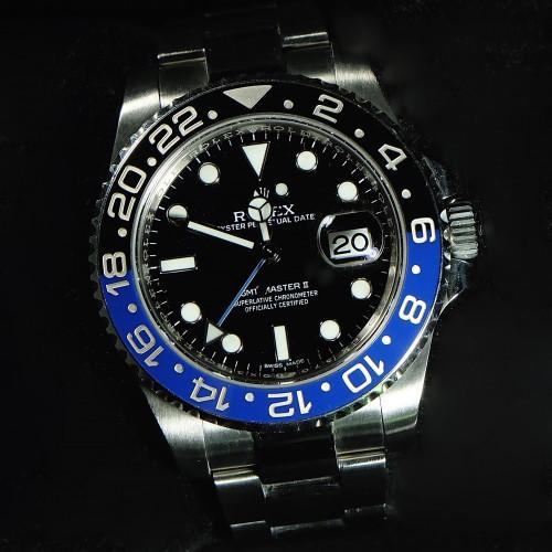 GMT-MASTER II BLUE BLACK