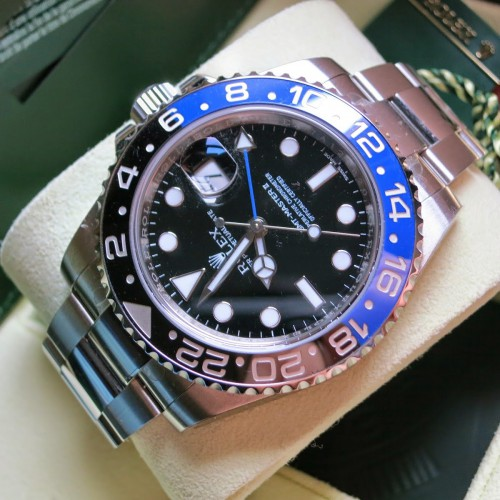 GMT-MASTER II BLUE BLACK(BATMAN)
