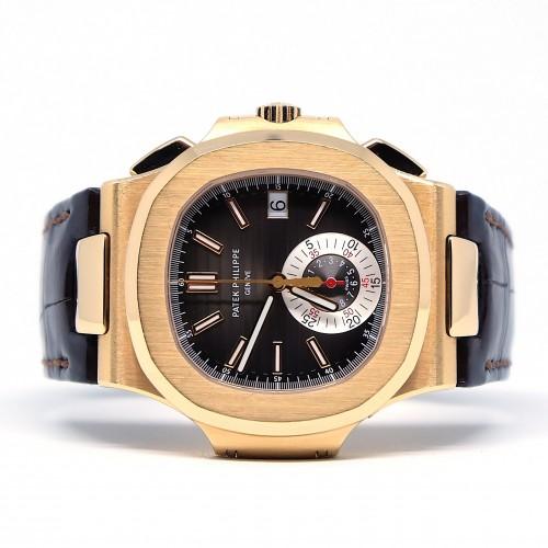 NAUTILUS CHRONOGRAPH ROSE GOLD 5980R