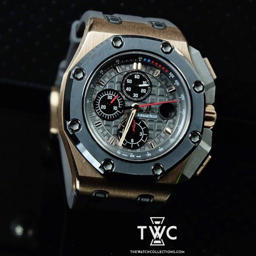 ROYAL OAK OFFSHORE MICHAEL SCHUMACHER ROSE GOLD