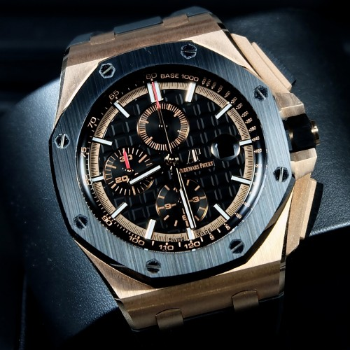 ROYAL OAK OFFSHORE NOVELTY ROSE GOLD *NEW MODEL SIHH 2017