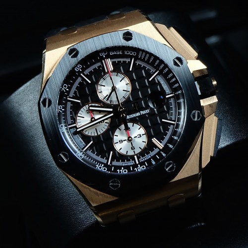 ROYAL OAK OFFSHORE NOVELTY ROSE GOLD