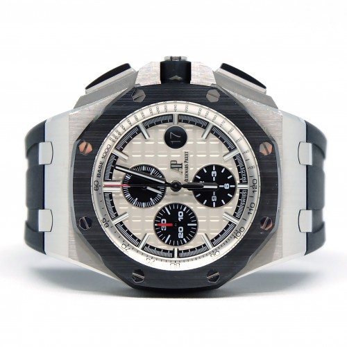 ROYAL OAK OFFSHORE NOVELTY STAINLESS STEEL 'I'