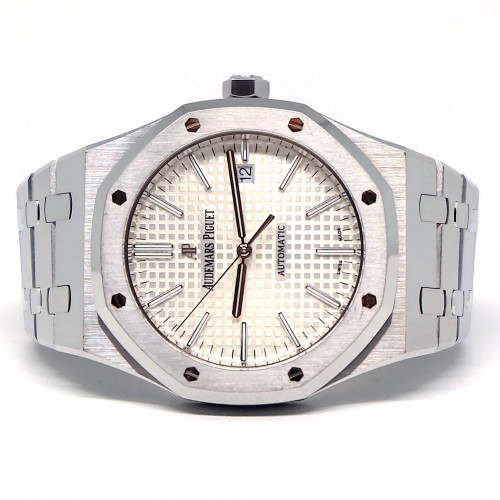 ROYAL OAK STAINLESS STEEL WHITE DIAL (2017)
