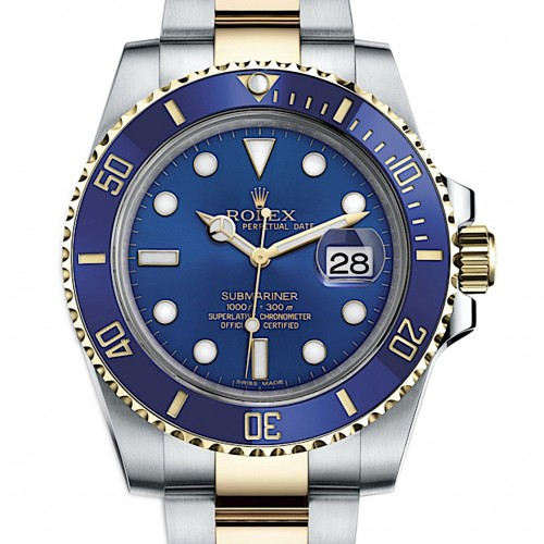 Submariner Date Two tone Sunburst 116613LB